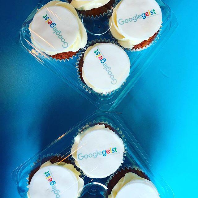 Googlegeist Cupcakes