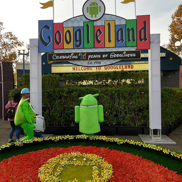 Googleland on Googleween