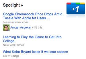 Google News Spotlight