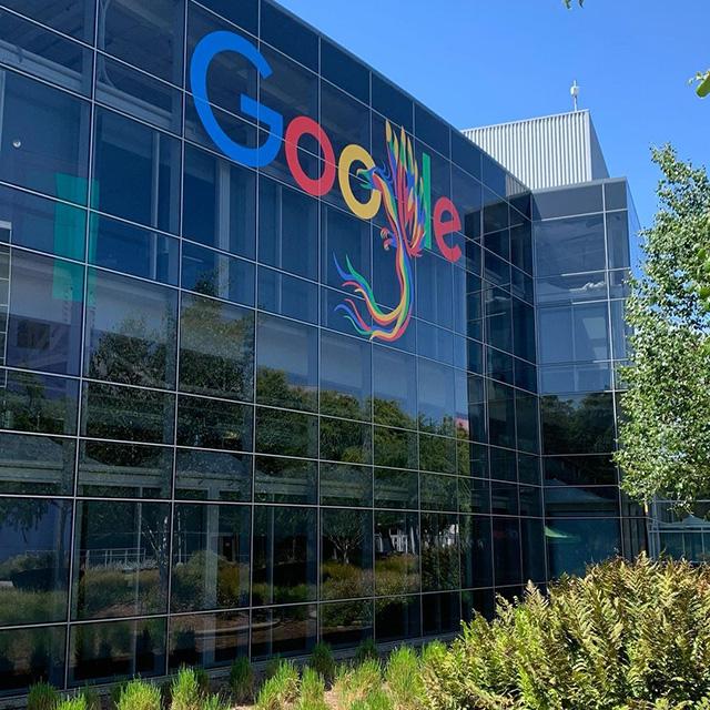 Google Dragon Sign At GooglePlex