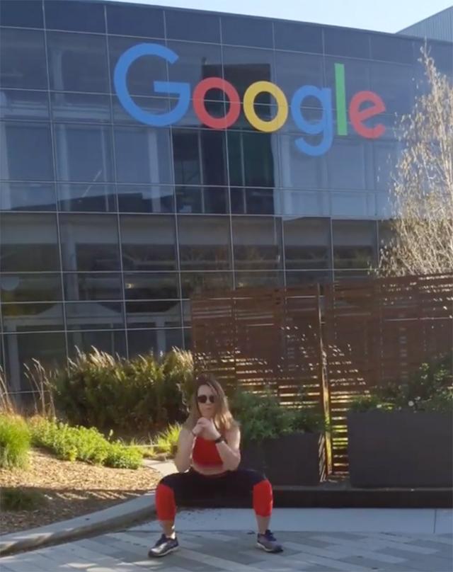 GooglePlex Social Distancing Workout