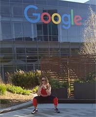 Social Distancing Workout At The GooglePlex