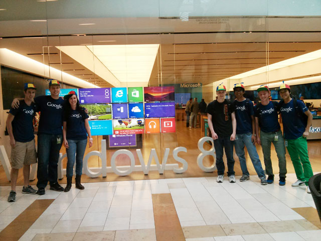 Google Interns At Microsoft's Windows Store