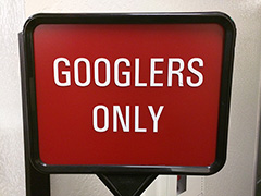 Googlers Only Sign