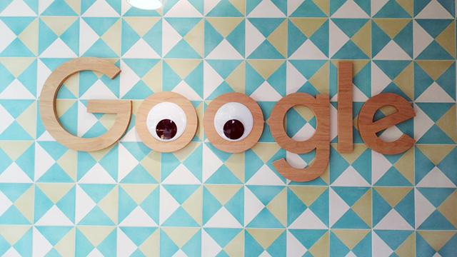 Googly Eyes Google Logo