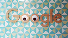 Google Logo With Googly Eyes
