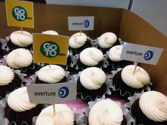 GoTo.com & Overture Cupcakes