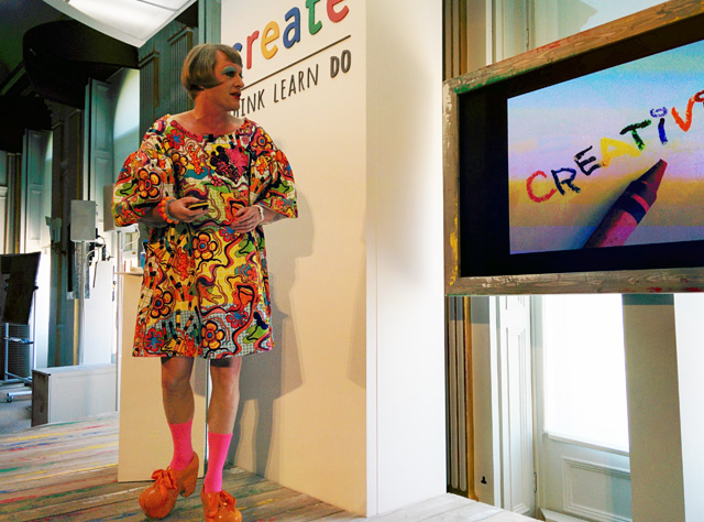 Grayson Perry Kicks Off Google Create