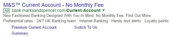 Google Testing Green Outlined AdWords Ad Label