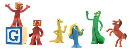 Google Gumby Art Clokey Logo
