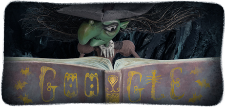 Google's Halloween Witch Logo - Spooky, Interactive & Offensive