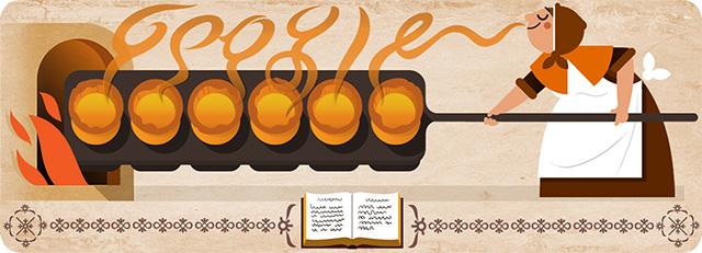 Google Doodle For Hannah Glasse