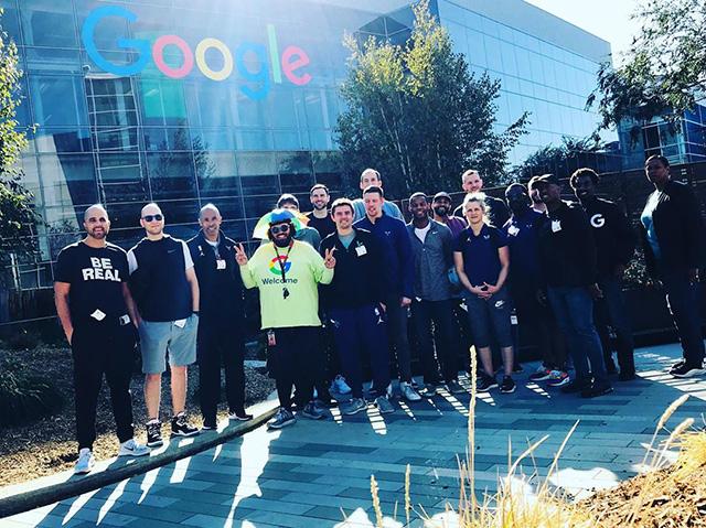 Charlotte Hornets At Google