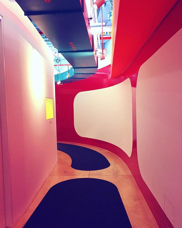 Hypnotic Google Hallway
