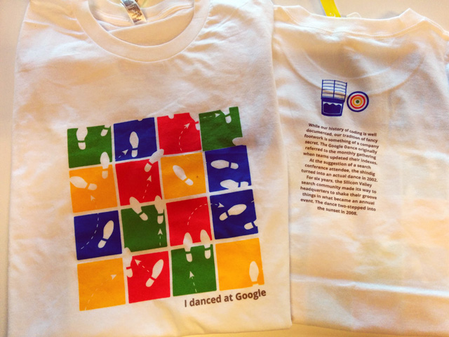 Google Dance Remembrance T-Shirts