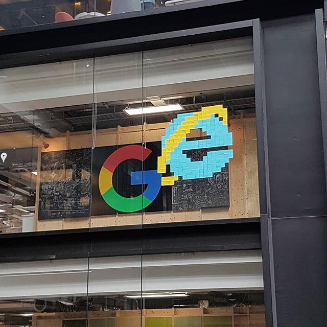 Internet Explorer Logo In Google Office