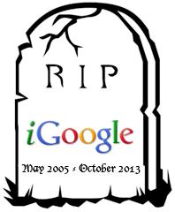 igoogle tombstone