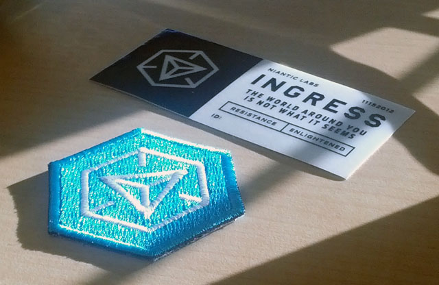 Ingress Badges & Patches