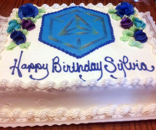 Ingress Birthday Cake