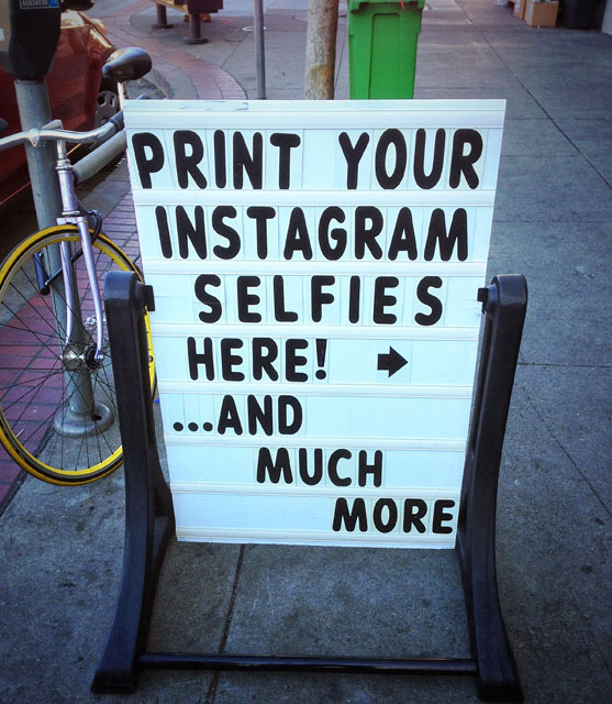 Print Your Instagram Selfies