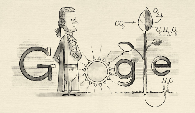 Google Jan Ingenhousz's