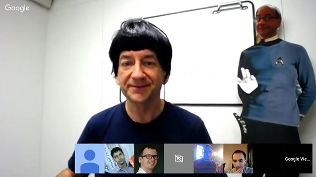 John Mueller Of Google As Mr Spock In Star Trek