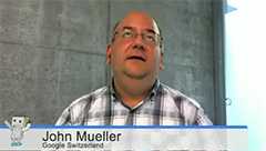 John Mueller looking up