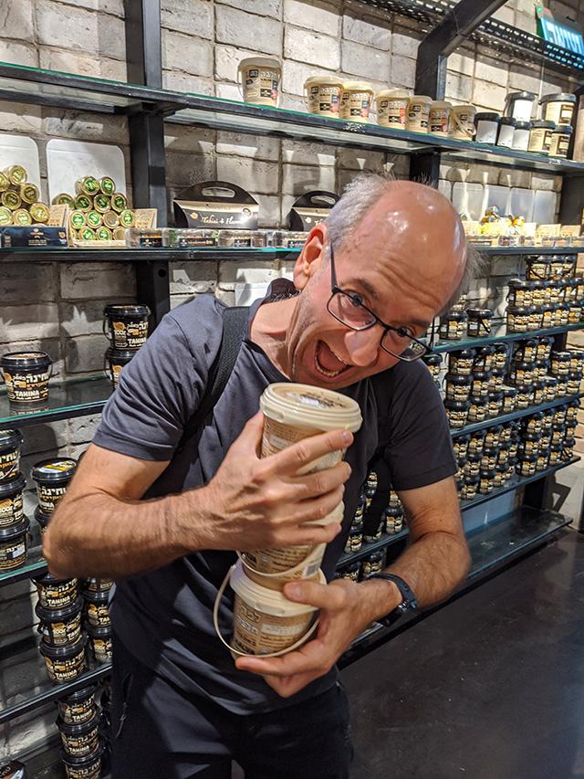 John Mueller Discovers Halva In Israel