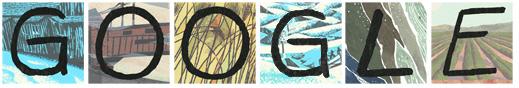 John Steinbeck's Google Logo