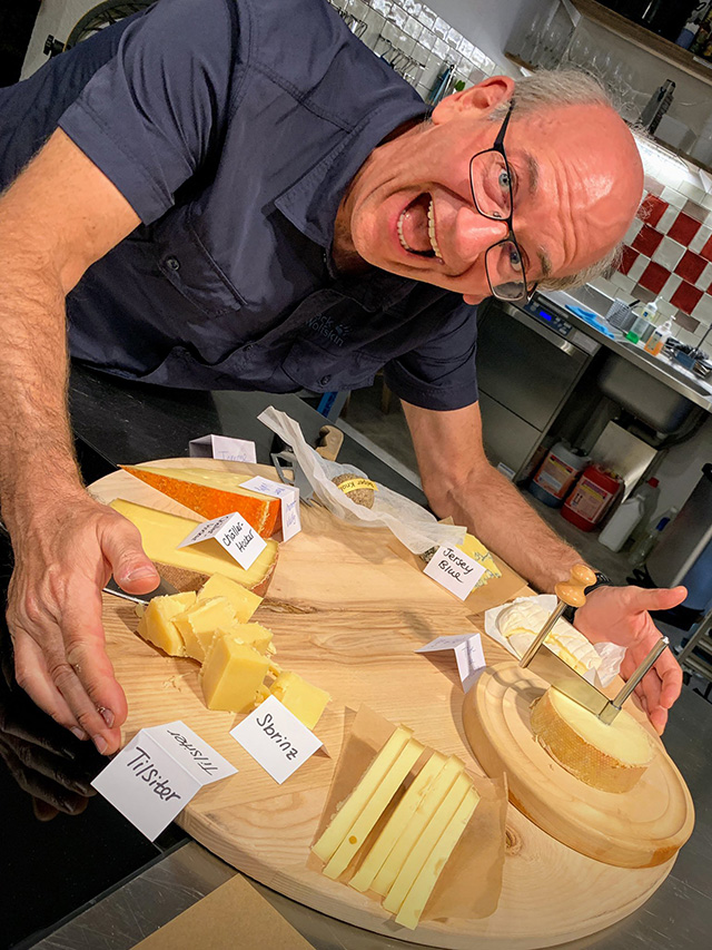 John Mueller With Cheese