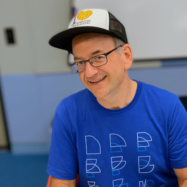 Google John Mueller Wears I Love Cheese Hat