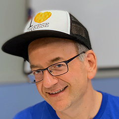 I Love Cheese Hat On Google's John Mueller