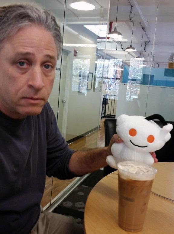 John Stewart At Reddit