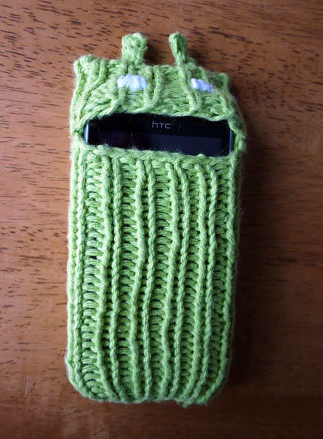 Knitted Android Sleeve