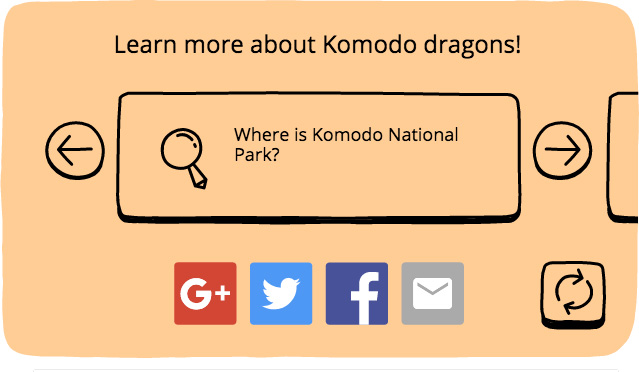 Google celebrates 37th anniversary of Komodo National Park with new Doodle