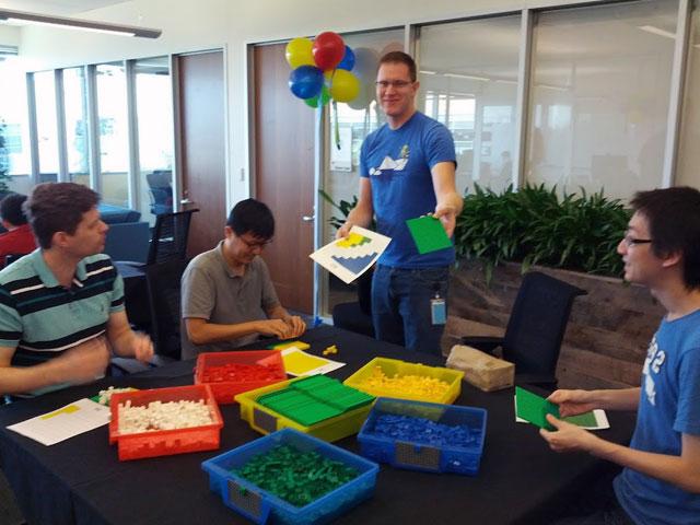 LEGOs for Chrome Logo
