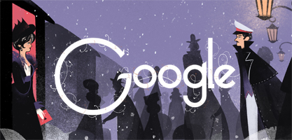 Google Logo For Leo Tolstoy
