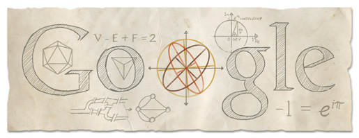 Google Logo For Leonhard Euler
