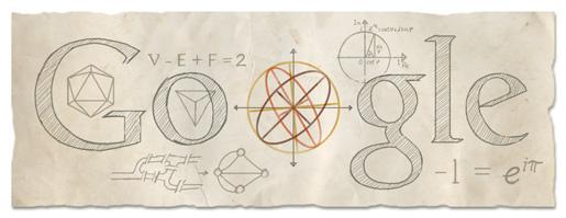 Google Logo For Leonhard Euler