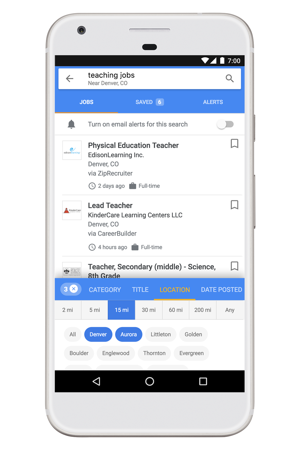Google Job Search Adds Salary Ranges, Location Filters, Saving Jobs