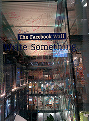 Write On The Facebook Wall In London