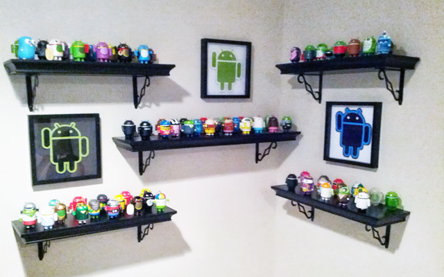 Android Figurine Shrine