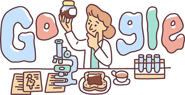 Lucy Wills Google Doodle