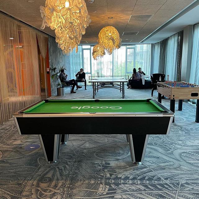 Lush Game Room At Google Dublin