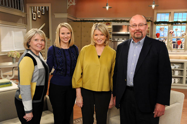 Google's Marissa Mayer Interviewed By Martha Stewart