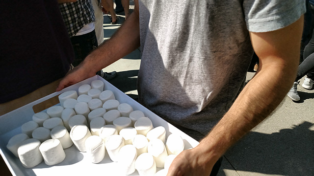 Google Marshmallows at Android M Launch