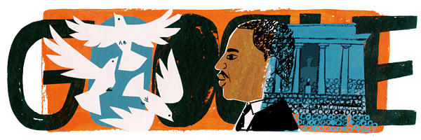 Google Martin Luther King, Jr. Logo