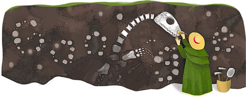 Google's Mary Anning Logo