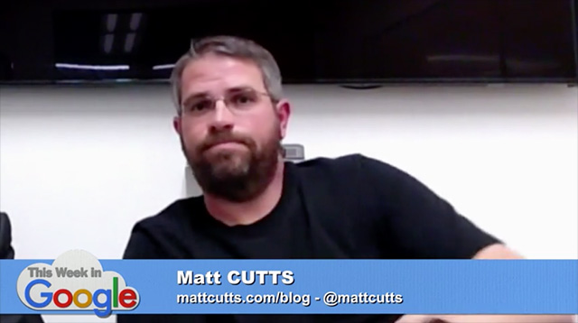 Matt Cutts With A Beard