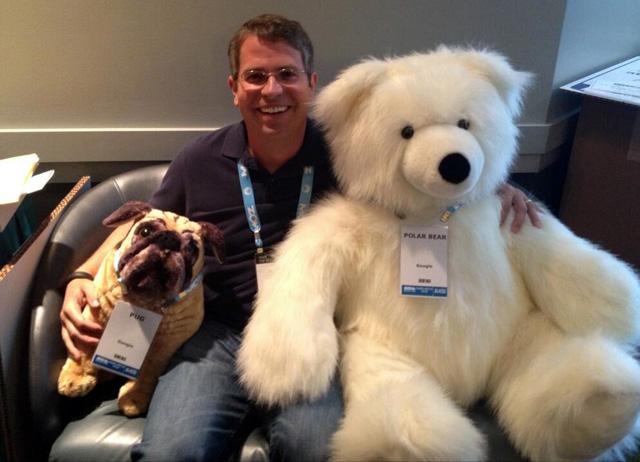 Pug, Pig & Polar Bear With Google's Matt Cutts